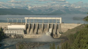 Ghost Hydroelectric Dam and Reservoir Stock Image