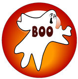 Ghost icon or button Stock Image