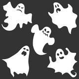 Ghost, the ghost icon, apparition, shadow, darkness, halloween Stock Photos