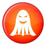 Ghost icon, flat style Stock Photos