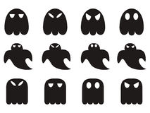Ghost icons set Royalty Free Stock Image