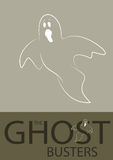Ghost Illustration Royalty Free Stock Images