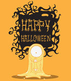 Ghost illustration Royalty Free Stock Photo