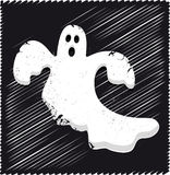 Ghost vector. Illustration of a spooky ghost + vector eps file royalty free illustration