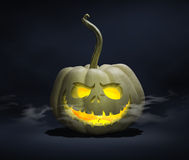 Ghost Jack-o-latern Foto de Stock Royalty Free