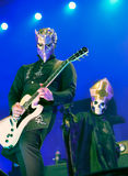 Ghost live in Hellfest festival 2016 Stock Photos