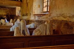 Ghost in Lukova stock photos
