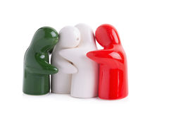 Ghost make for ceramic Stock Image