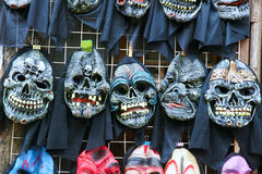 Ghost mask Stock Images