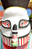Ghost mask statue Royalty Free Stock Images