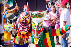 Ghost mask thailand festival Royalty Free Stock Photo