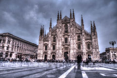 Ghost in Milan Royalty Free Stock Images