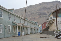 Ghost mining town of Sewell, Chile Royalty Free Stock Image