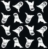 ghost pattern seamless royalty free stock images
