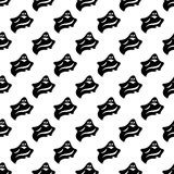 Ghost pattern seamless Royalty Free Stock Photo