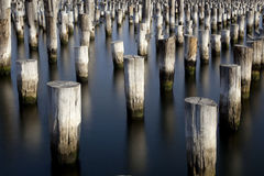 Ghost Pier Stock Photography