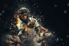 Ghost rider. Stock Images