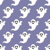 Ghost seamless pattern Stock Image