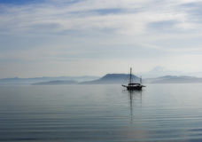 Ghost ship Royalty Free Stock Image