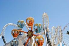 Ghost ship amusement ride Stock Photos