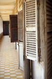 Ghost shutters Stock Image