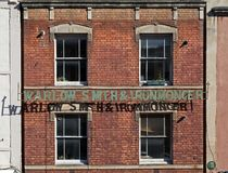 Ghost Sign royalty free stock photos