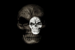 Ghost Skull Stock Images