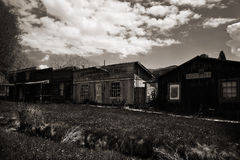 Ghost town. Virginia City, ghost town, Montana Royalty Free Stock Images