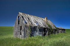 Ghost town. American ghost town in Idaho Stock Photography
