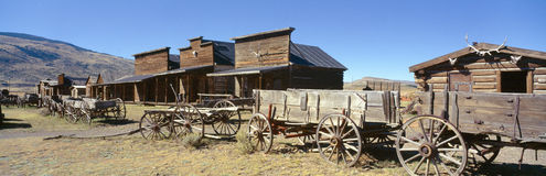 Ghost Town. In Cody Wyoming royalty free stock photo