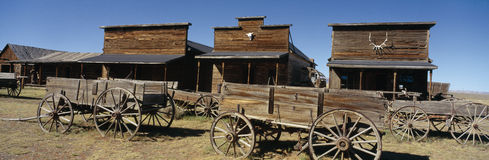 Ghost Town. In Cody, Wyoming stock photography