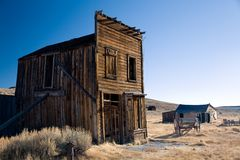Ghost town Royalty Free Stock Images