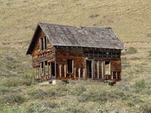 Ghost Town. Dilapidated house near Winthrop WA, USA royalty free stock images