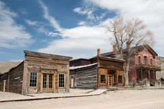 Ghost town Stock Images