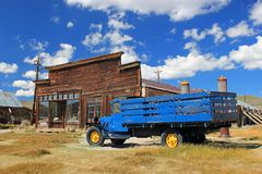 Bodie, Ca. Deserted Mining Town stock photography