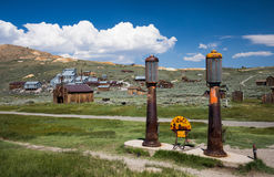 Ghost town  Bodie California Stock Photo