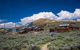 Ghost town  Bodie California Stock Image