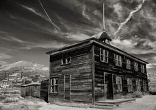 Free Ghost Town Bodie Schoolhouse Stock Photos - 31632703
