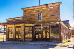 Ghost Town of Bodie Storefronts Royalty Free Stock Photography