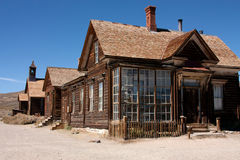 Ghost town Bodie Royalty Free Stock Image