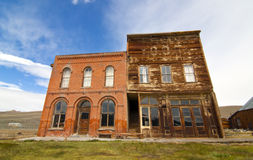 Ghost Town Buildings Royalty Free Stock Photography