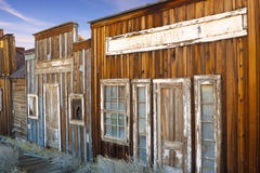 Ghost Town Buildings Stock Image