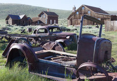 Ghost-town cars Stock Photography