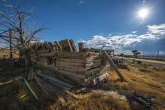 Ghost Town Cisco Utah Royalty Free Stock Image