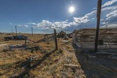 Ghost Town Cisco Utah Stock Images