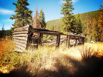 Ghost Town in Coalmont Royalty Free Stock Images