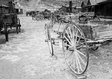 Ghost Town, Cody, Wyoming, United States Royalty Free Stock Images