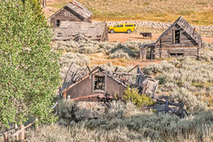 Ghost Town Contrasts Stock Photography