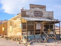 Ghost Town Rhyolite Stock Photo