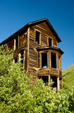 Ghost Town deserted house at a gold mine. Stock Photography